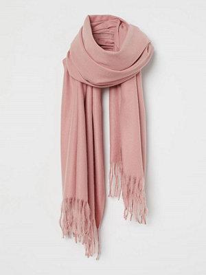 Halsdukar & scarves - H&M Vävd scarf rosa