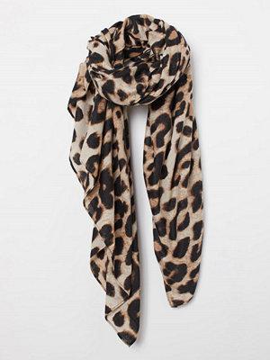 Halsdukar & scarves - H&M Mönstrad scarf beige