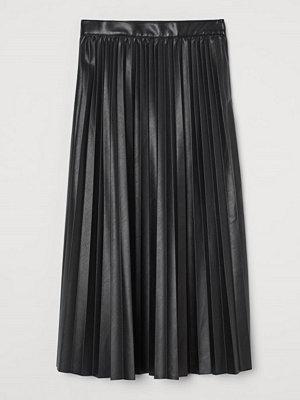 Kjolar - H&M Plisserad kjol svart