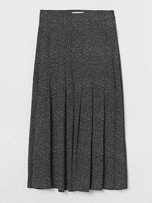 Kjolar - H&M Vadlång kjol svart