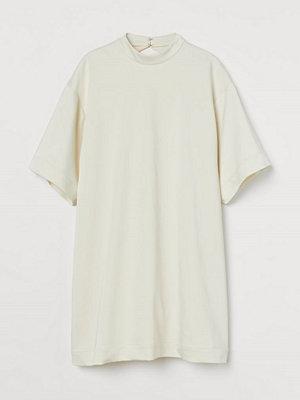 H&M Oversized klänning vit