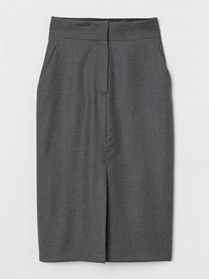 H&M Pennkjol i ull grå