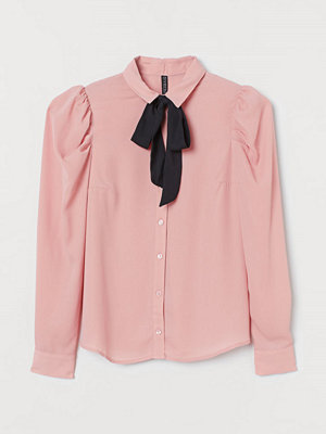H&M Knytblus rosa