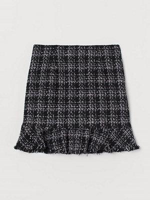 H&M Peplumkjol svart