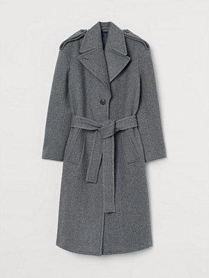 H&M Kappa i ullmix grå
