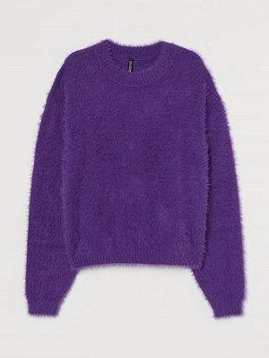 H&M Lurvig tröja lila