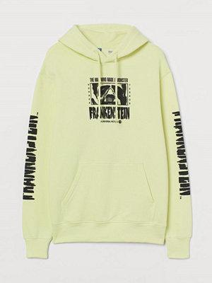 Street & luvtröjor - H&M Huvtröja med motiv gul