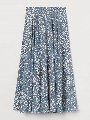 Kjolar - H&M Mönstrad kjol blå