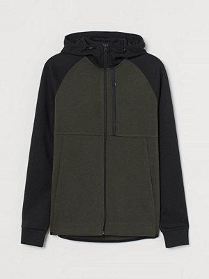 Street & luvtröjor - H&M Sportjacka Regular Fit grön