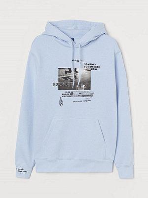 Street & luvtröjor - H&M Huvtröja blå