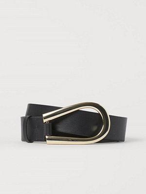 H&M Midjeskärp svart