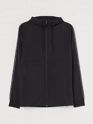 Street & luvtröjor - H&M Träningsjacka Muscle Fit svart