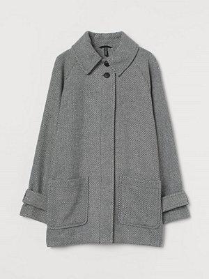 H&M Boxig twillkappa grå