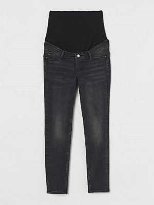 Jeans - H&M MAMA Push Up Ankle Jeggings svart