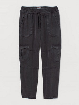 H&M svarta byxor Pull on-byxa grå