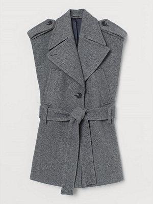 Linnen - H&M Cape i ullmix grå