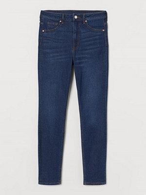 H&M Curvy High Jeggings blå