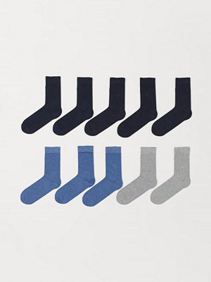 Strumpor - H&M 10-pack strumpor blå