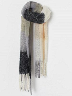 H&M Vävd scarf grå