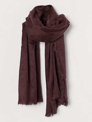 H&M Lurvig scarf lila