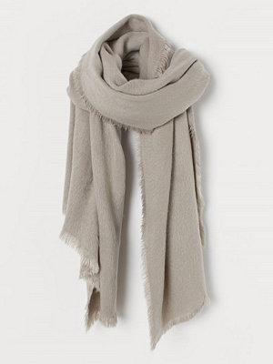 H&M Lurvig scarf grå