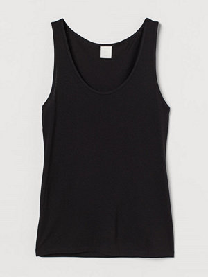 Linnen - H&M THERMOLITE® tanktop svart