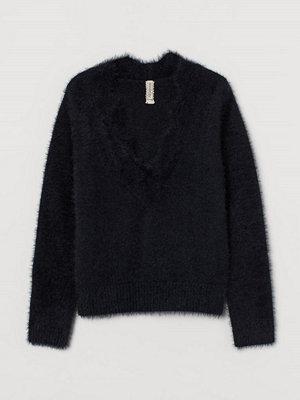H&M Lurvig tröja svart