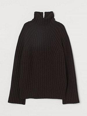 H&M Polotröja i ull brun