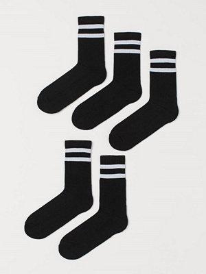 H&M 5-pack strumpor svart