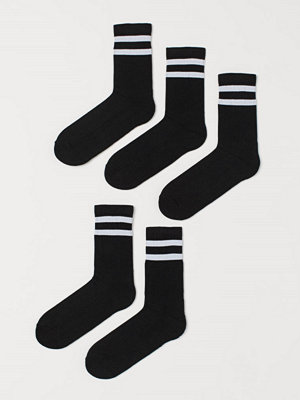 Strumpor - H&M 5-pack strumpor svart