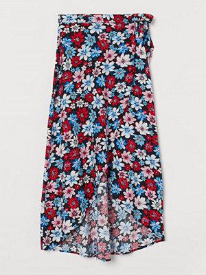 H&M Omlottkjol blå