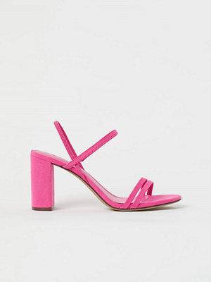 H&M Remsandaletter rosa