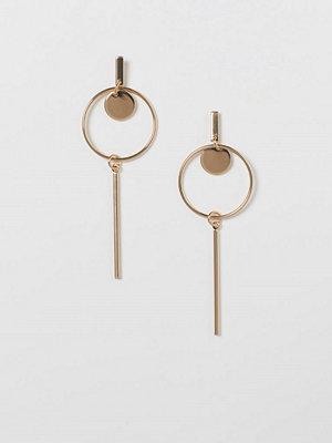 H&M Långa örhängen guld