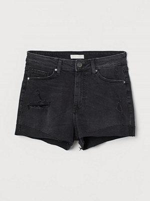 Shorts & kortbyxor - H&M Jeansshorts grå