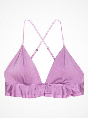 Bikini - H&M Trekantsbikini-bh lila