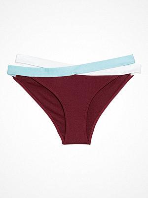 Bikini - H&M Cheeky bikinitrosa röd