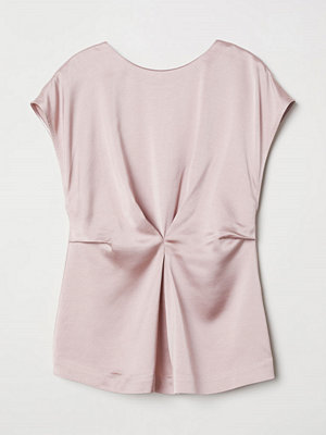 H&M Blus i viskos rosa