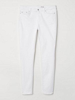H&M H & M+ Shaping Skinny Jeans vit