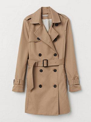 H&M Kort trenchcoat beige