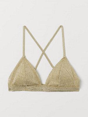 Bikini - H&M Vadderad trekantsbikini-bh beige