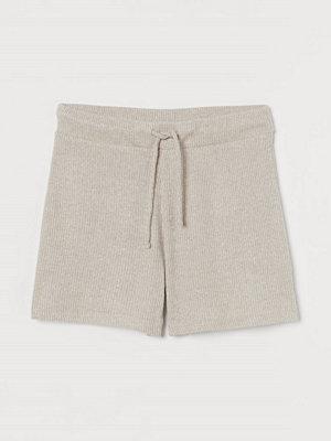 H&M Ribbade shorts beige