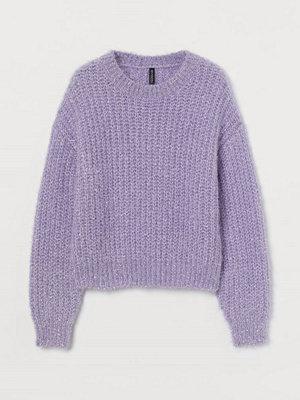H&M Glittrig tröja lila