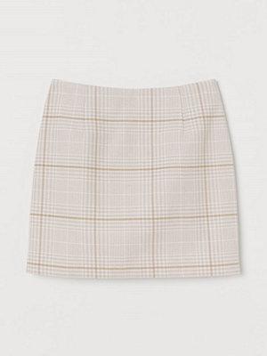 H&M Kort kjol grå