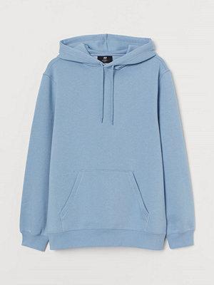 H&M Huvtröja Relaxed Fit blå
