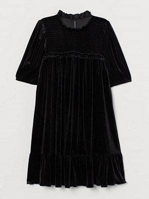 Festklänningar - H&M Klänning med puffärm svart