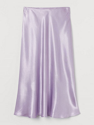 H&M Vadlång kjol lila