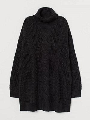 H&M H & M+ Oversized polotröja svart