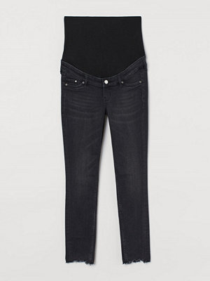 H&M MAMA Skinny Ankle Jeans svart