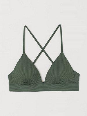 Bikini - H&M Push up bikini-bh grön