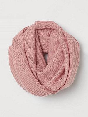 H&M Stickad tubhalsduk rosa